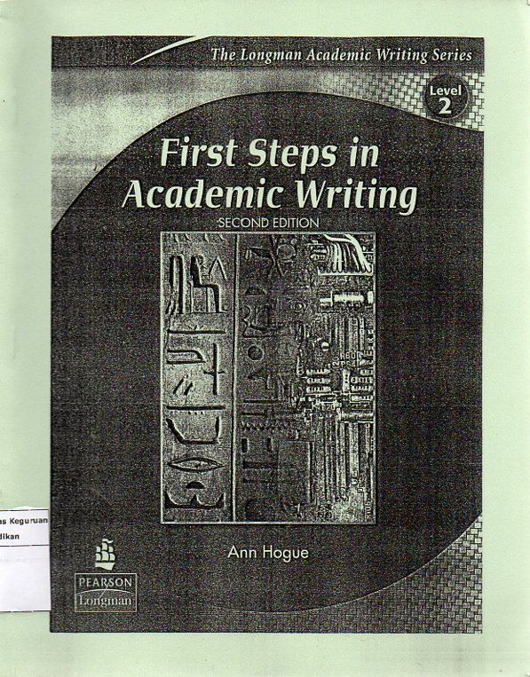 Firts Steps In Academic Writing