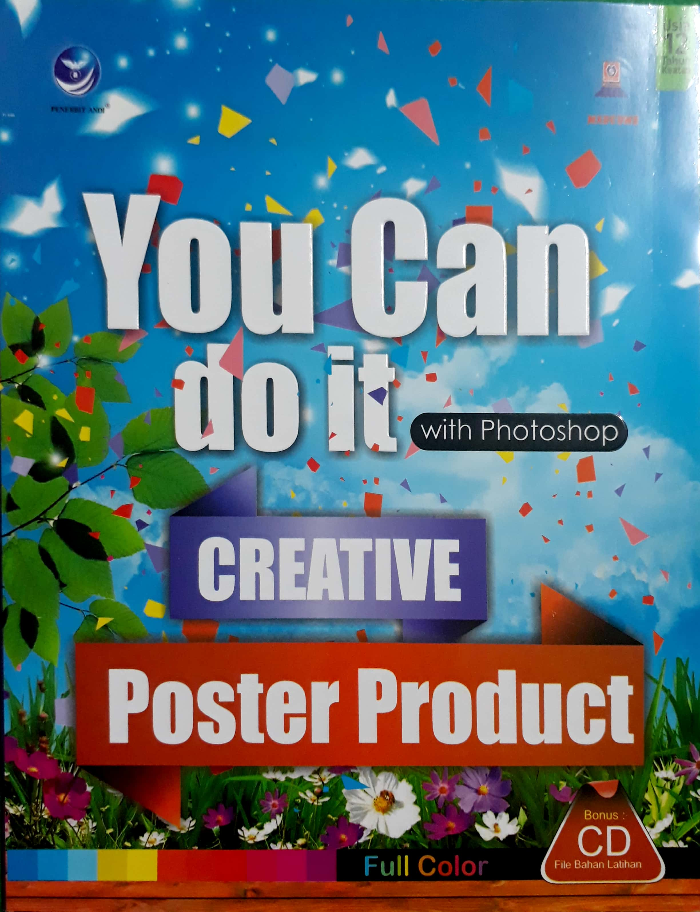 You Can do it with Photoshop creative poster product