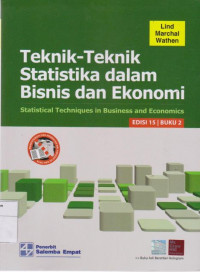 Image of Teknik-Teknik Statistika dalam Bisnis dan Ekonomi = Statistical Techniques in Business and Economics Edisi 15  Buku 2